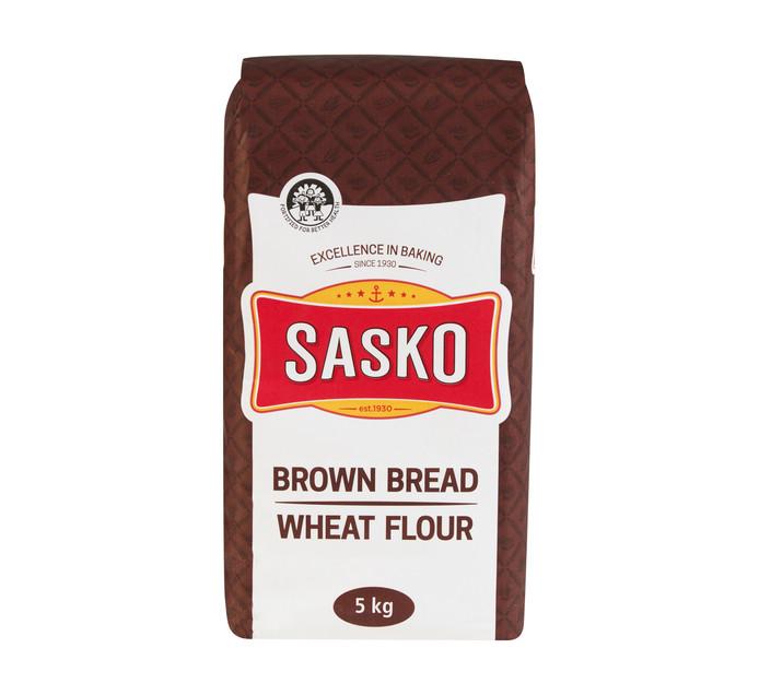 Sasko Brown Bread Wheat Flour (1 x 5kg)
