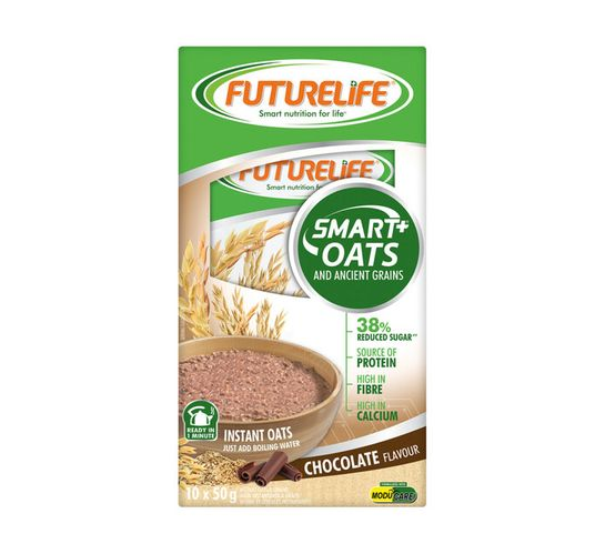 Futurelife Smart Oats And Ancient Berries Chocolate (10 x 50g)