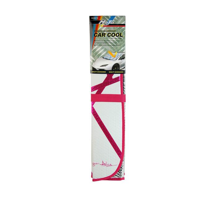 Moto-quip Moto-Quip Deluxe Pink Aluminium Carcool