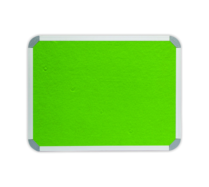PARROT PRODUCTS Info Board (Aluminium Frame, 1200*900mm, Lime Green)