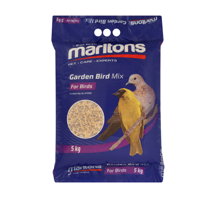 MARLTONS GARDEN BIRD SEED 5KG
