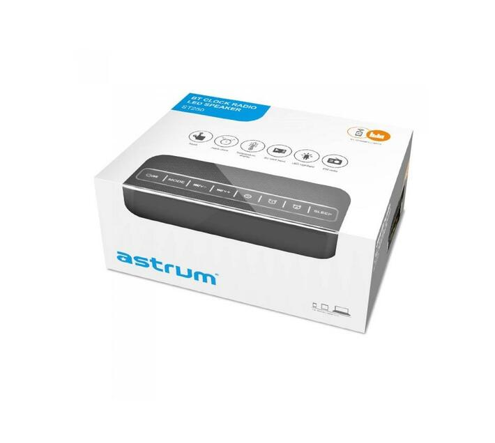 Astrum Bluetooth Speaker with Clock/Alarm/FM