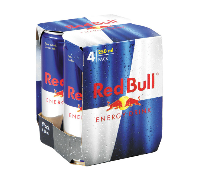 Red Bull Energy Drink (4 x 250ml)