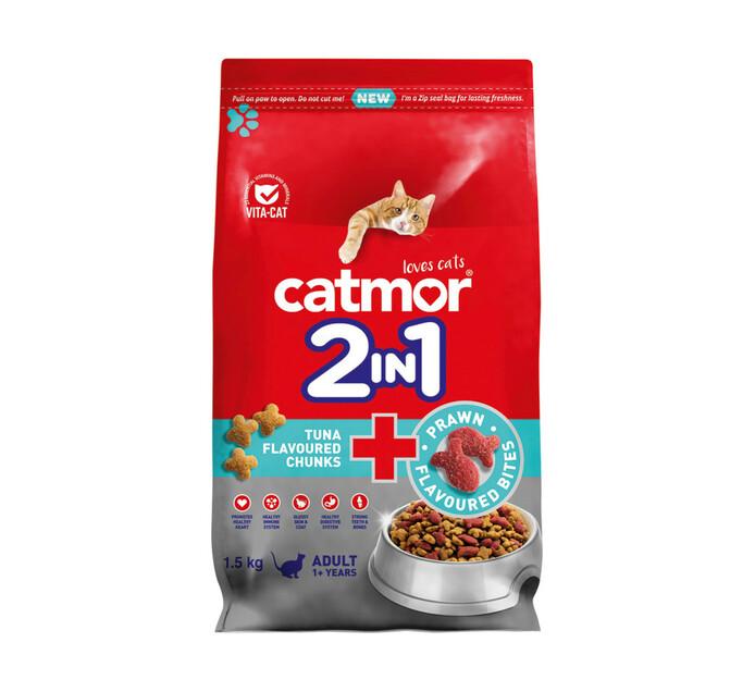 Catmor Tuna Chunks+Prawn Bites (1x1.5kg)