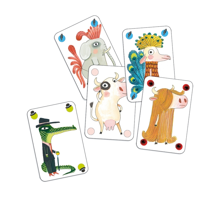 Djeco Card Game: Bluffing- Pipolo