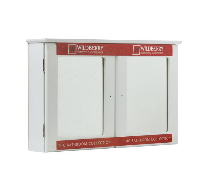 Wildberry Double Door Wooden Cabinet
