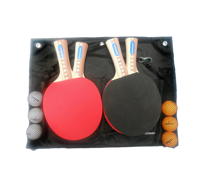 Donnay 4-Player Ace Table Tennis Set