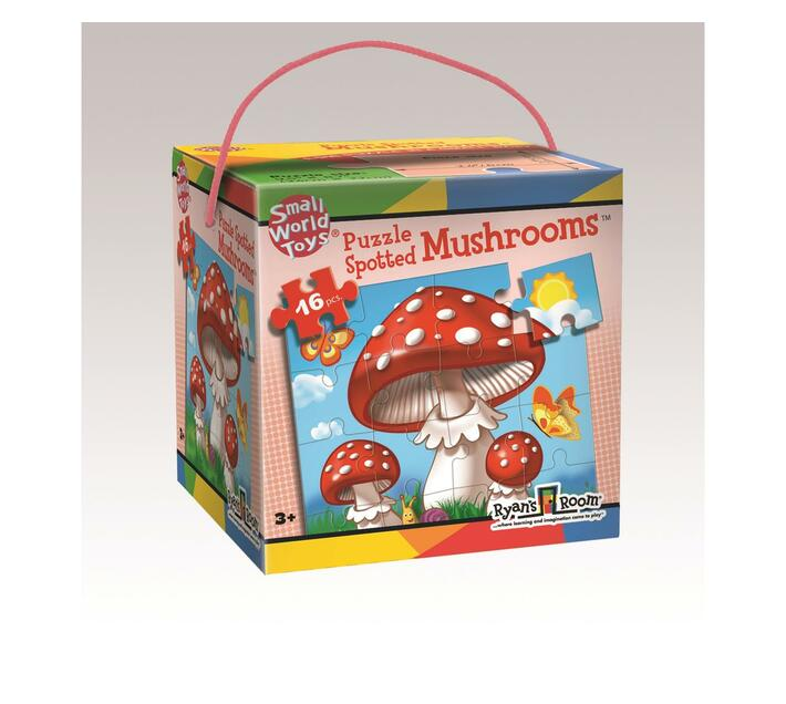 Spotted Mushrooms 16-piece puzzle