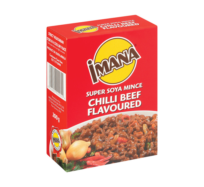 Imana Soya Mince Chilli Beef (10 x 200g)