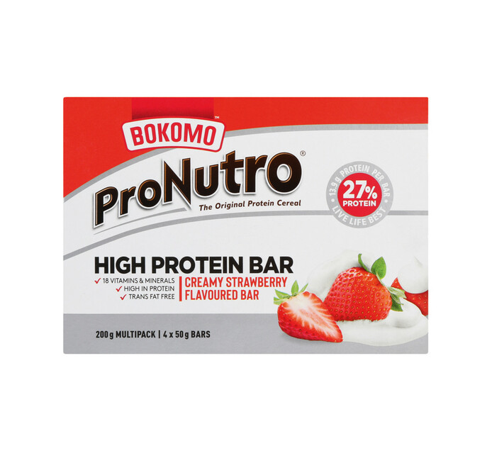 Pronutro High Protein Bar All variants (12 x 50g x 4)