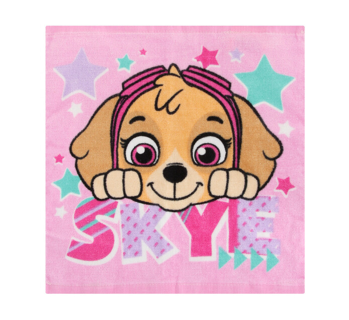 Character Paw Patrol Pink Face Cloth