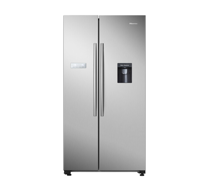 Hisense 562 l Side-by-Side Fridge/Freezer with Water Dispenser