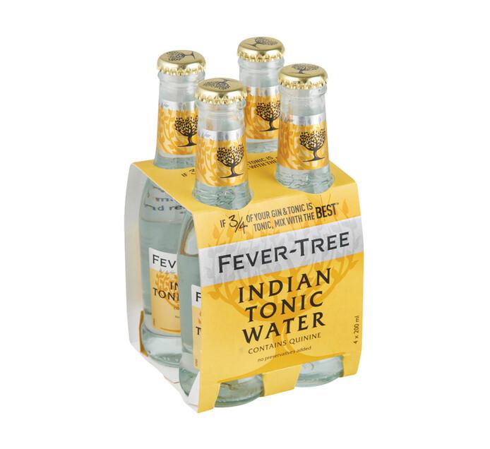 Fever Tree Premium Tonic NRB (4 x 200ml)