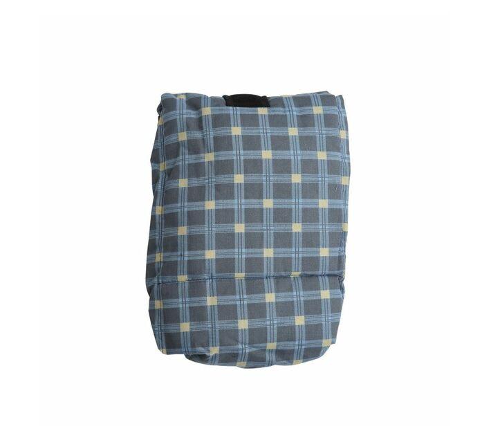 Baby Carry Pouch - Blue Tartan