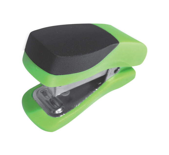 Parrot Products Mini Plastic Stapler Green Single