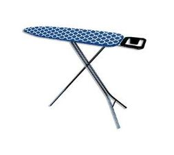 Premium Quality Ironing Board - Navy With White