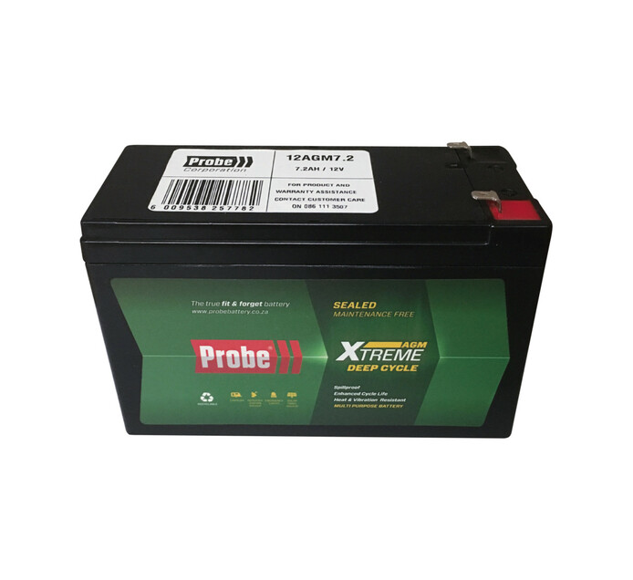 Probe 7.2 Ah Replacement Battery