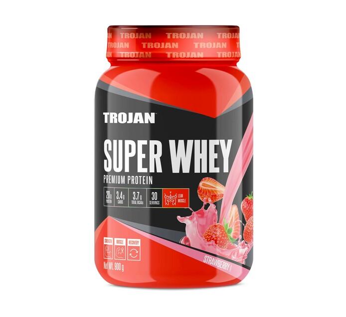 Trojan 900 g Super Whey Strawberry