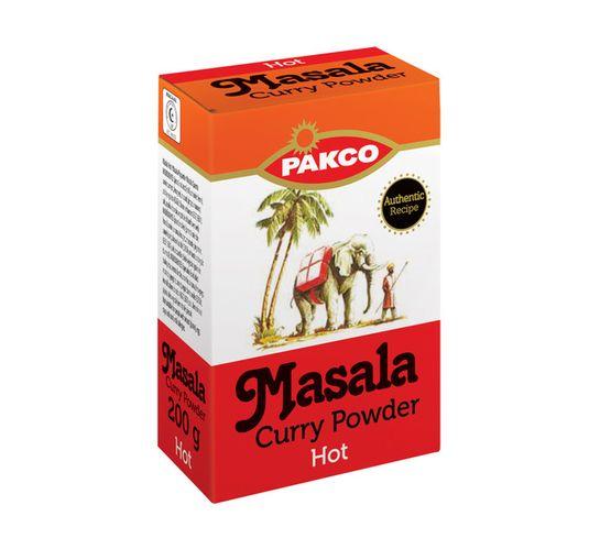 PAKCO CURRY POWDER 200G, HOT