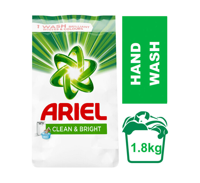 Ariel Hand Wash Powder Original (8 x 1.5kg + 300g)