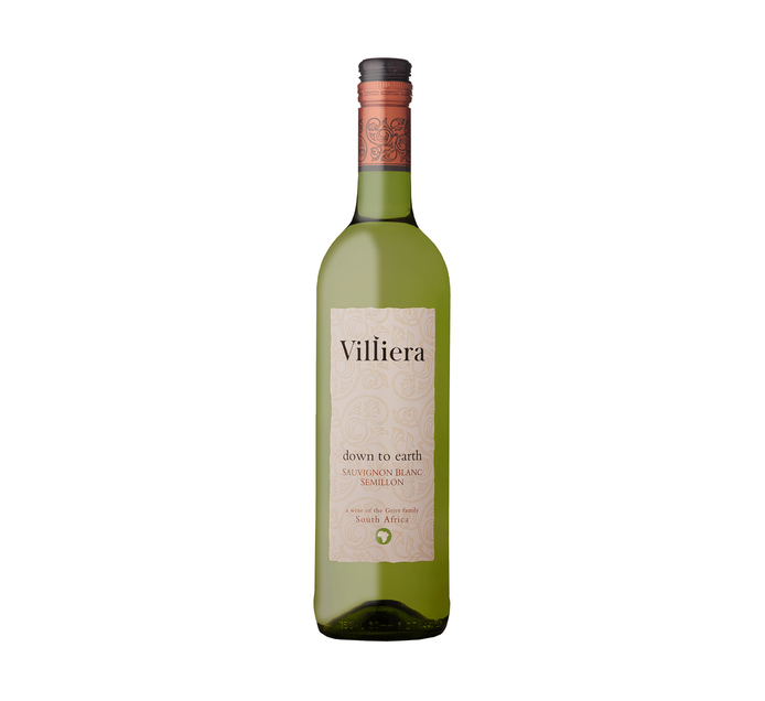 Villiera Down To Earth White (1 x 750ml)