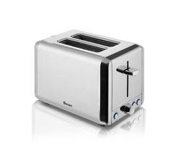 Swan 2 Slice Classic Stainless Steel Toaster