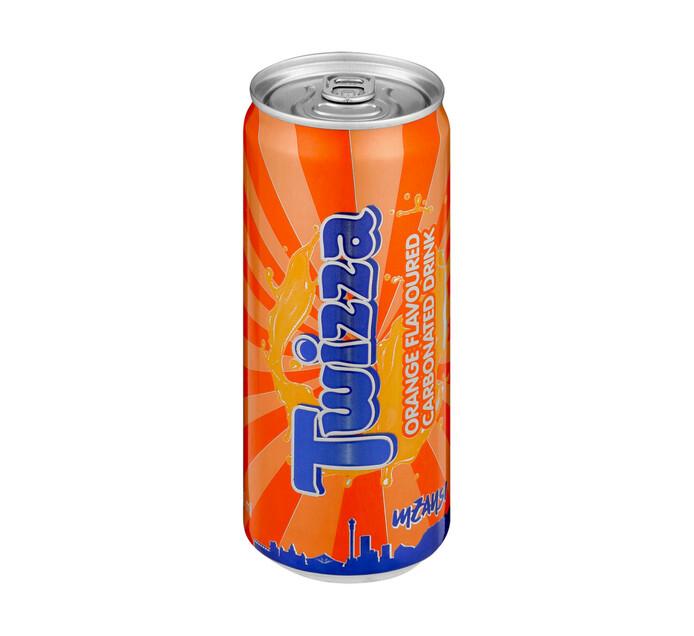 Twizza Twizza Cans Orange (4 X 300g)
