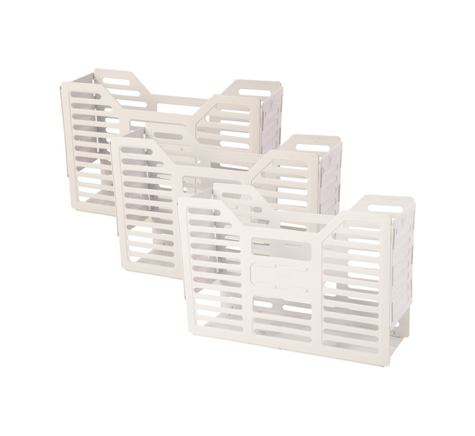 TIDY FILES Plastic containers