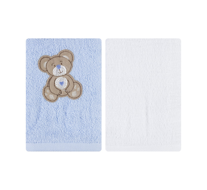 Legend 30CM X 30CM Assorted Embroidered Hooded Towels, Bath Towels and Face Clothes