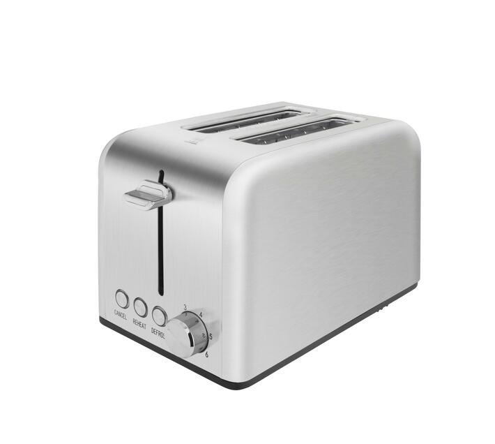 Midea 2 Slice Toaster with Toaster Rack - Stainless Steel
