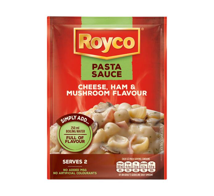 Royco Regular Pasta Sauce Cheese, Ham and Mushroom (1 x 45g)