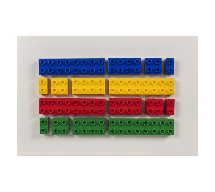 Prime Coloured Blocks 1kg Pack