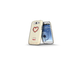 Whatever It Takes Tough Shield Samsung Galaxy S3 Cover (Charlize T Cream)