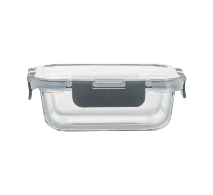 Consol 370 ml Madrid Rectangular Storage Container with Clip-On Lid