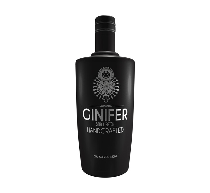 Ginifer Handcrafted Smallbatch Gin (1 x 750ML)