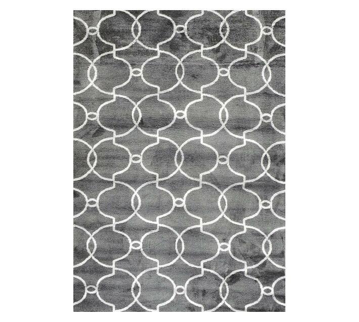 Grey and White Mambo Rug 1.60 x 2.30