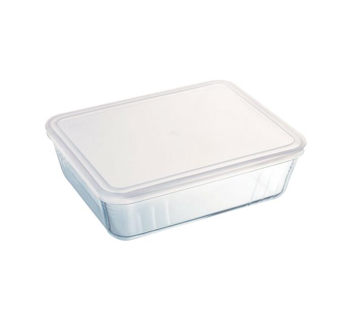 Pyrex 1 l Cook & Freeze Rectangular Dish with Plastic Lid