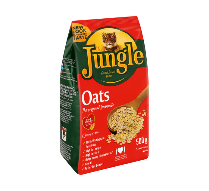 Jungle Oats Original (1 x 500g)