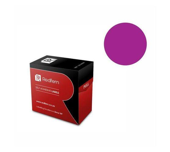 Redfern Self-Adhesive Colour Codes - C25 Purple