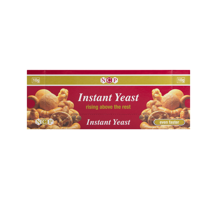NCP Instant Yeast (48 x 10g)