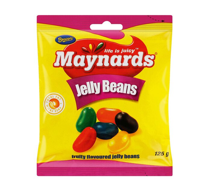 Beacon Gums & Jellies Fruit Jelly Beans (24 x 125g)