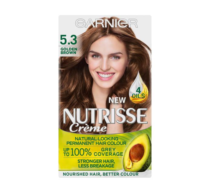 Garnier Nutrisse Hair Colour 5.3 Golden Brown (1 x 1's)
