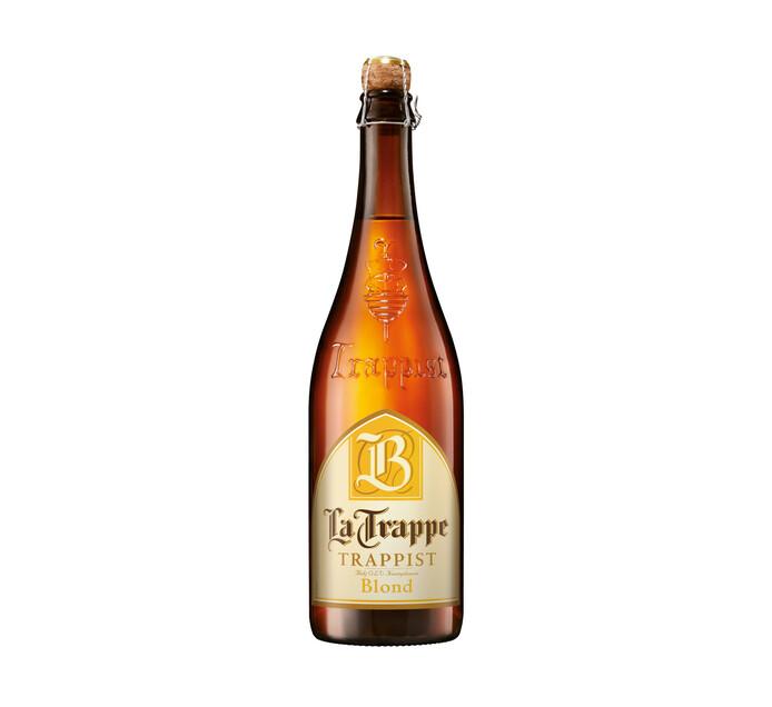 La Trappe Blond Bottle 75CL Beer (6 x 750ml)