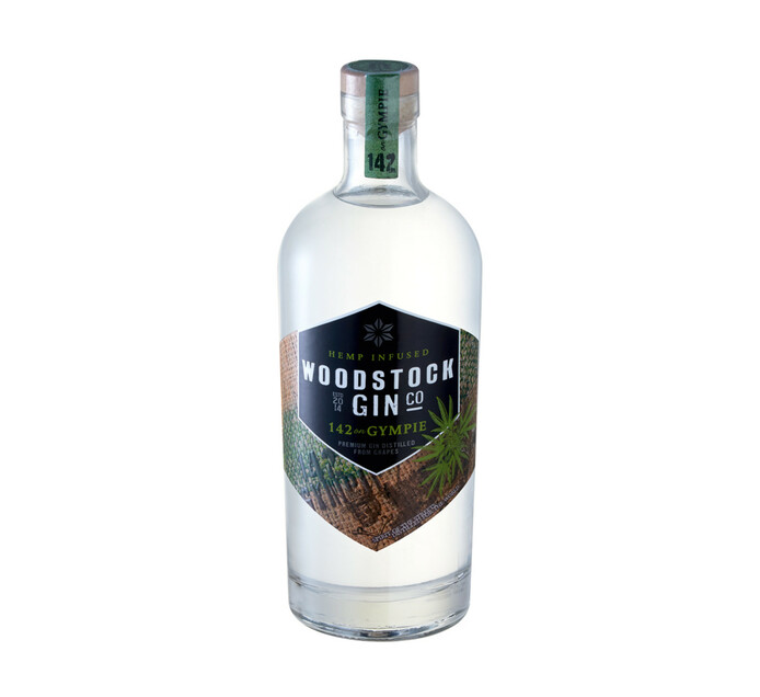 WOODSTOCK Hemp Infused Gin (1 x 750ml)