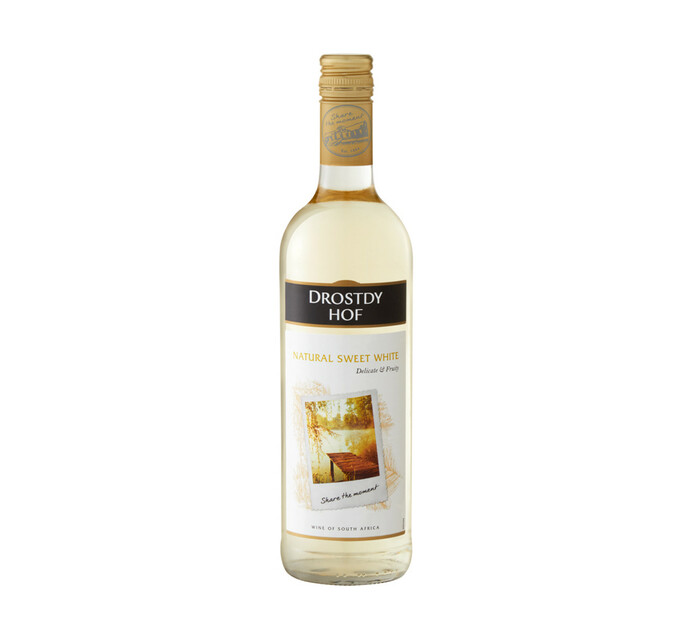 Drostdy Hof Natural Sweet White (1 x 750ml)