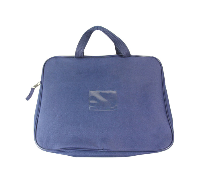 Kenzel A4 Book Bag with Handle Navy Blue Navy blue