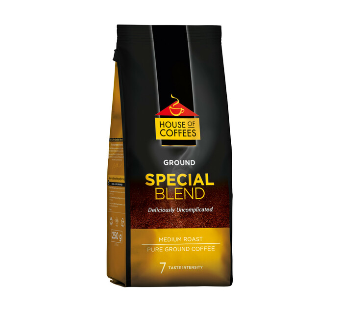 House Of Coffees Pure Ground Coffee Special Blend (1  x 250g)