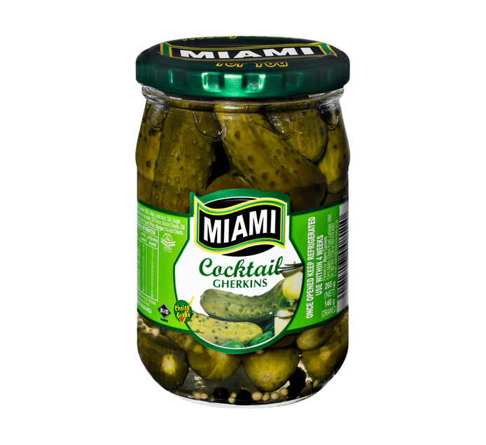Miami Cocktail Gherkins (1 x 265g)
