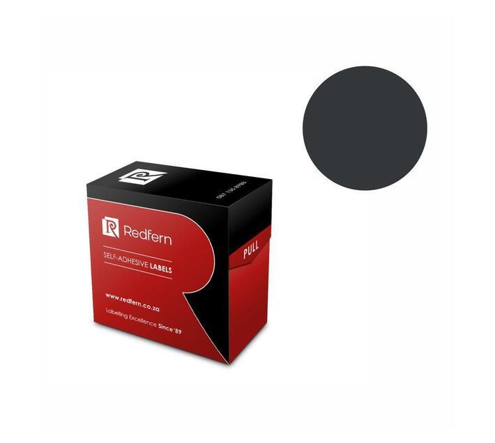 Redfern Self-Adhesive Colour Codes - C25 Black