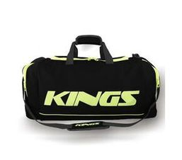 2577S - Black and Green Kings dome shaped carrybag